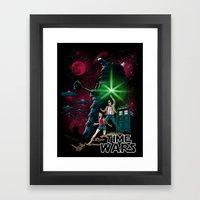 Time Wars Framed Art Print