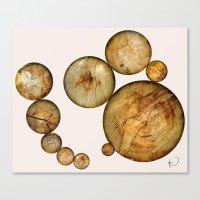 Wood Wood 2 Canvas Print