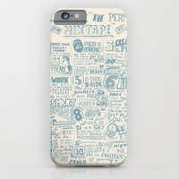 iPhone & iPod Case featuring How to make the perfect mixtape by luradontsurf