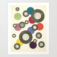 Put Another Record On Art Print
