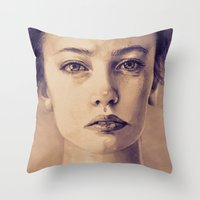 A Memory II Throw Pillow