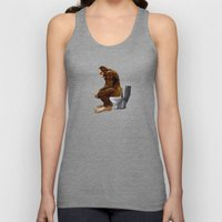 Bigfoot Breaks Into Some… Unisex Tank Top