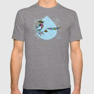 Epiphany Befana Mens Fitted Tee Tri-Grey SMALL
