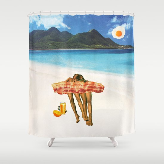 Unrequited Fantasies Shower Curtain