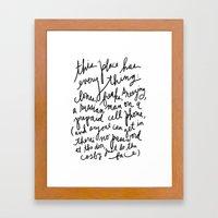 New York's Hottest Club... Framed Art Print