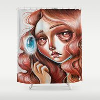 Soul Gem :: Red Headed S… Shower Curtain