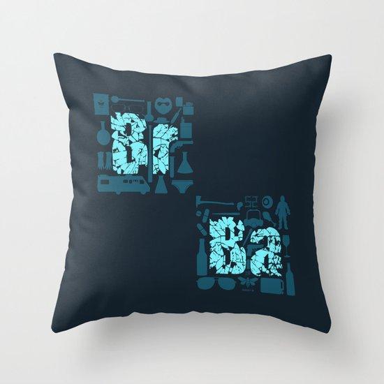 Br Ba Throw Pillow