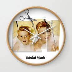 Tainted Minds Wall Clock