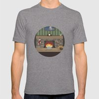 Game Name #2 Mens Fitted Tee Tri-Grey SMALL