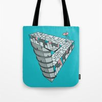 Up And Down City Tote Bag