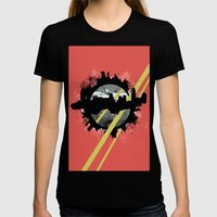 The Event Horizon Womens Fitted Tee Black SMALL