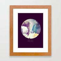up to Space!  Framed Art Print