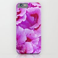 iPhone & iPod Case featuring Pink Geranium I by TS Photography