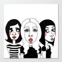 It Girls Canvas Print