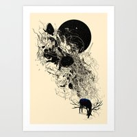 Safer Waters Art Print