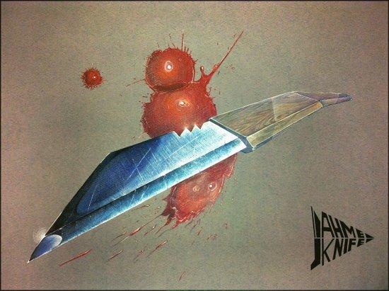Ahmed Knife Art Print