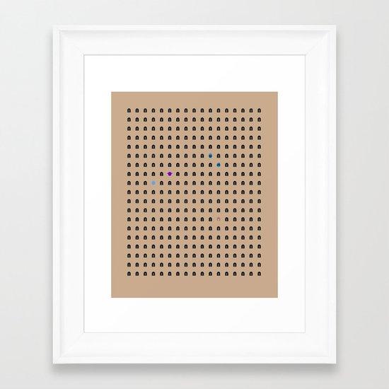 Famous Capsules - Clone Wars Framed Art Print