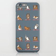 English Bulldog Yoga iPhone 6 Slim Case