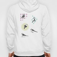 Birds And Dots Hoody
