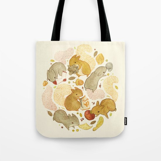 Things Squirrels Probably Shouldn't Be Eating Tote Bag