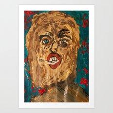 grunge  Art Print