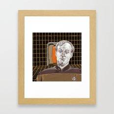 Star Trek: TNG Lt Broccoli Framed Art Print