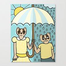 Rain or Shine Canvas Print