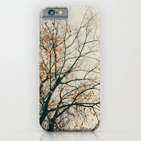 iPhone & iPod Case featuring when autumn comes to it's end by Julia Kovtunyak