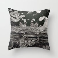 Jupiter's Guide For Submariners Throw Pillow