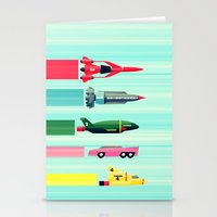 THUNDERBIRDS! Stationery Cards