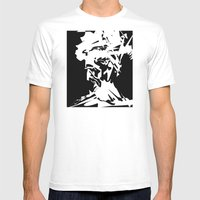 An Old Man Mens Fitted Tee White SMALL