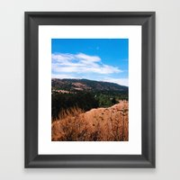 Garland Ranch Framed Art Print