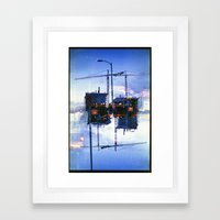 America Ducking The Ques… Framed Art Print