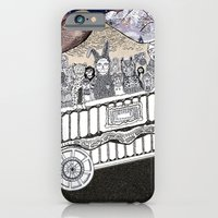 Animals on a Wagon iPhone 6 Slim Case