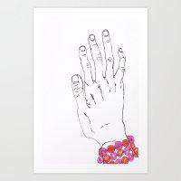 Bracelet Art Print