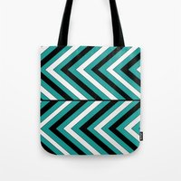 Pattern Turquoise 1 Tote Bag