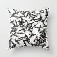 Black Cats! Throw Pillow