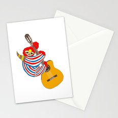 Bowie Sloth Vintage Guitar Stationery Cards