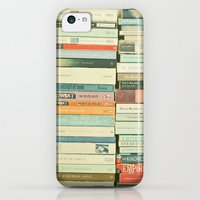 iPhone 5c Cases featuring Bookworm by Cassia Beck