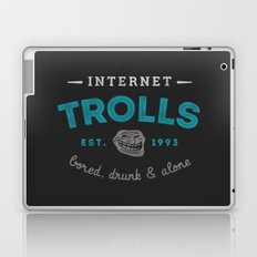 The Scourge of the Internet Laptop & iPad Skin