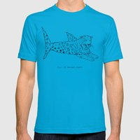 Jaguar Shark Mens Fitted Tee Teal SMALL