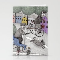 The Day the Cat got Away Stationery Cards