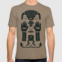 Raise yr Hands Mens Fitted Tee Tri-Coffee SMALL