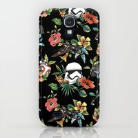 Samsung Galaxy S4 Case featuring The Floral Awakens by Josh Ln