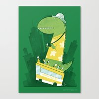 Hop-on-hop-off Canvas Print