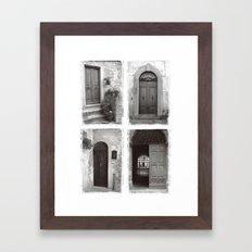 Doors of Rome Framed Art Print