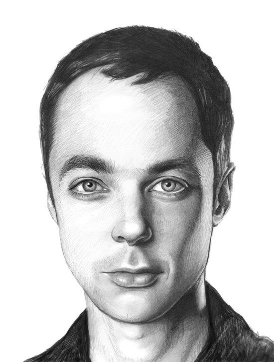 Sheldon Cooper Canvas Print