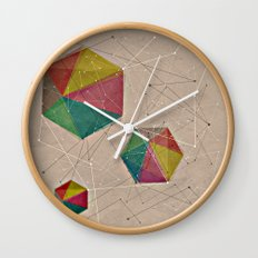 GEOMETRIC IV Wall Clock
