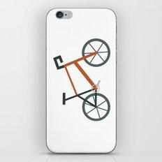 Orange Bike iPhone & iPod Skin