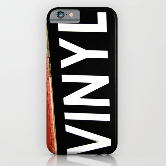Vinyl iPhone & iPod Case